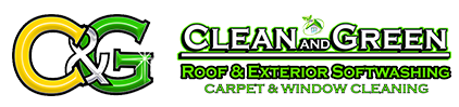 Clean and Green Exterior Softwashing LLC Logo